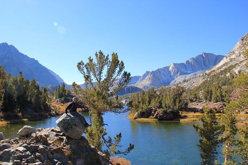 First sightseeing of Long Lake.