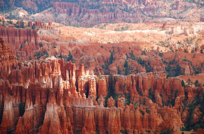 Bryce Canyon near Inspiration Point.