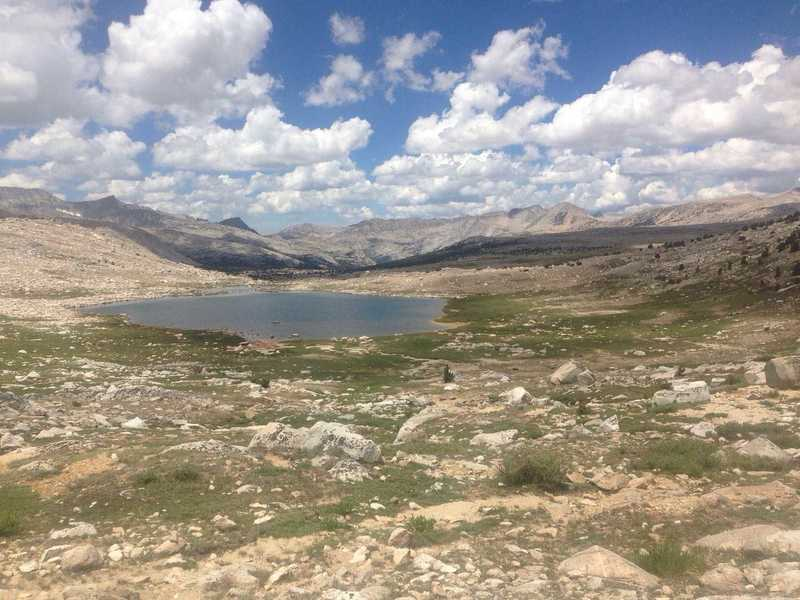 A view of the gorgeous Humphreys Basin.