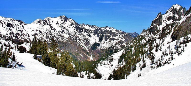 The view from Glady's Divide in Olympic National Park