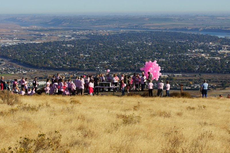 The Rise Above Cancer Walk uses the trails here, notably Badger Flats and the Canyon Trail.