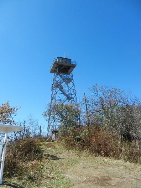 Fryingpan Mountain Lookout Tower.