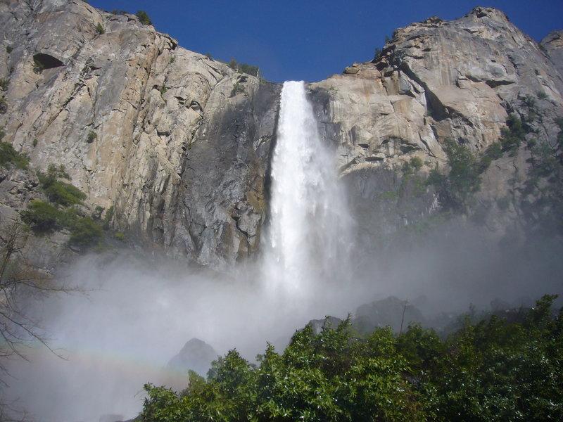 Bridalveil Falls!