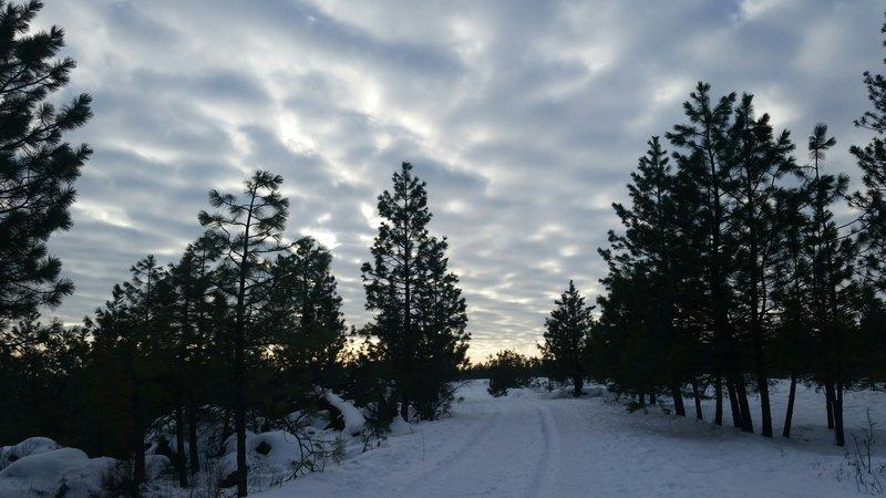 Spokane sunset