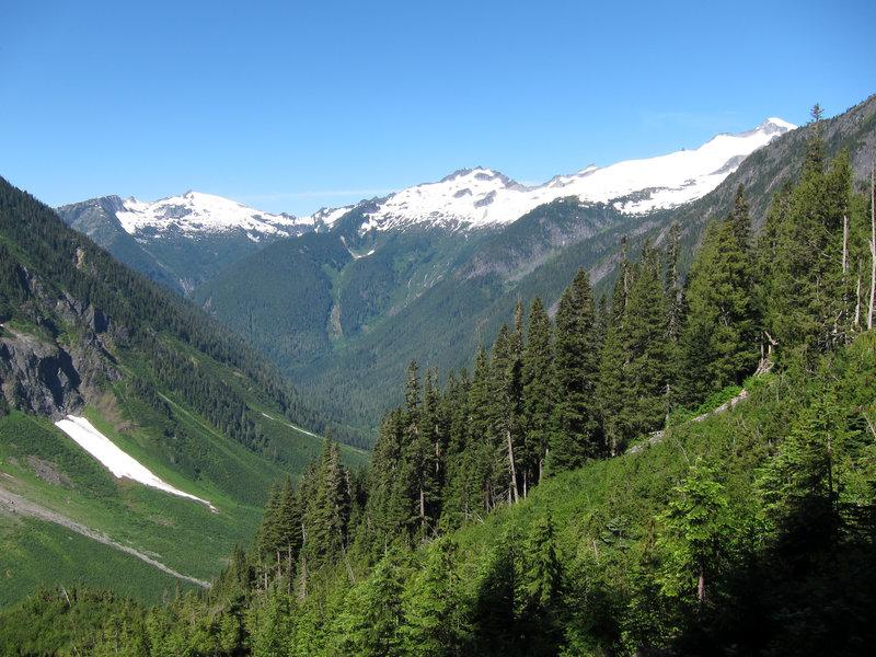 Cascade Pass Trail.