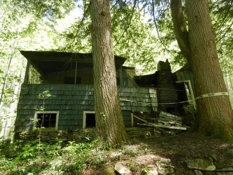 Old cottages.