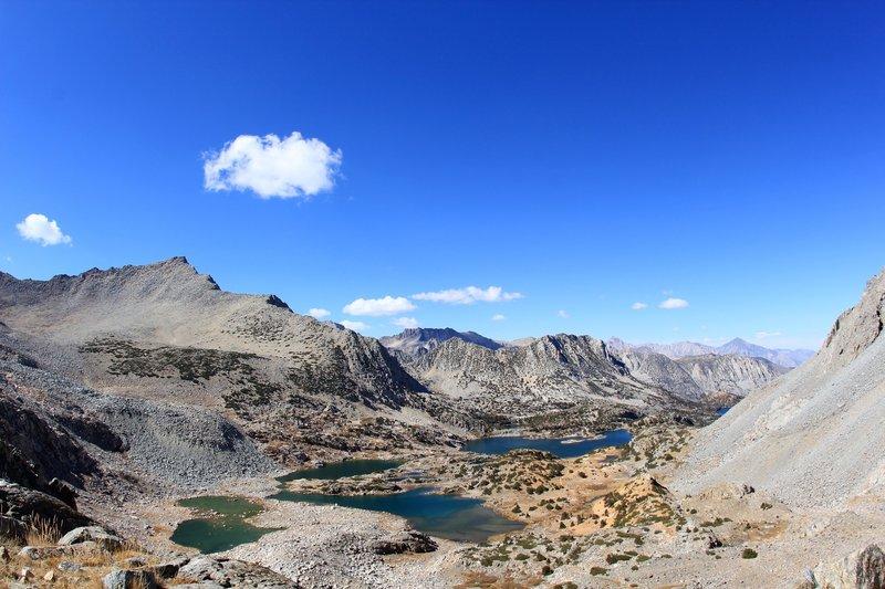 Bishop Lake and Saddlerock Lake