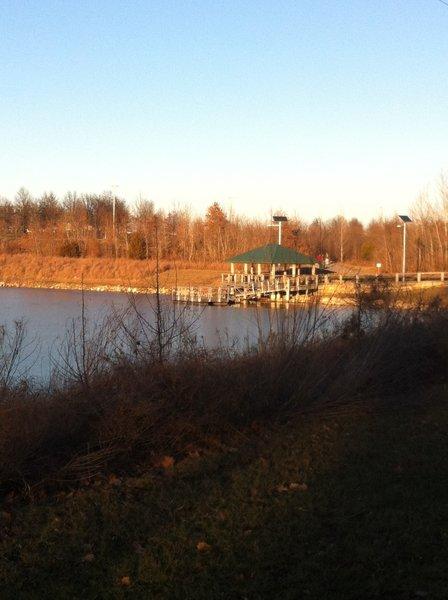 Vantage Lake winter beauty!
