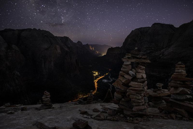 Zion After Dark.