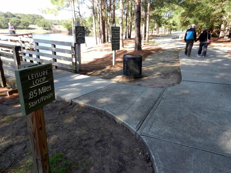 Leisure Loop - easy paved loop.