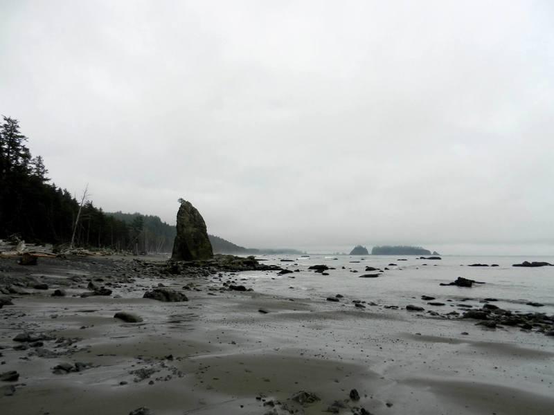 Seastacks near Hole-in-the-Wall.