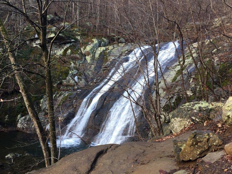 Whiteoak Canyon Falls.
