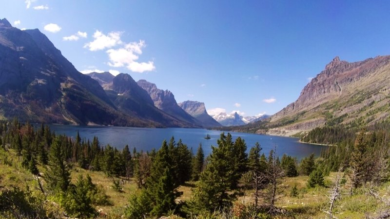 St. Mary Lake, Glacier National Park, MT.