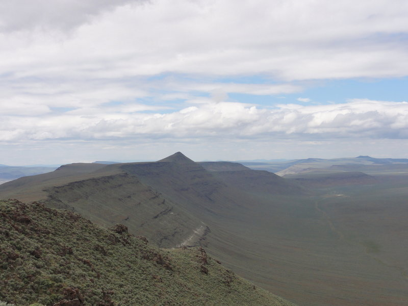 The views from Diablo Rim are stunning.