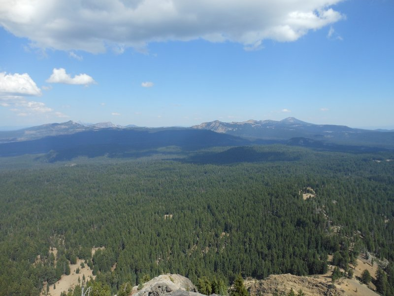 View from atop Union Peak!