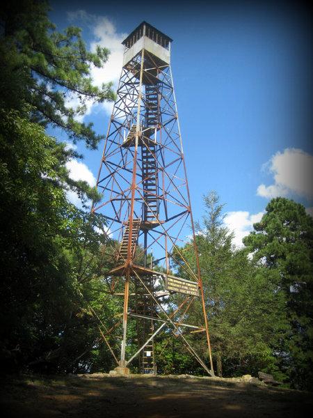 Garden Mountain Lookout Tower