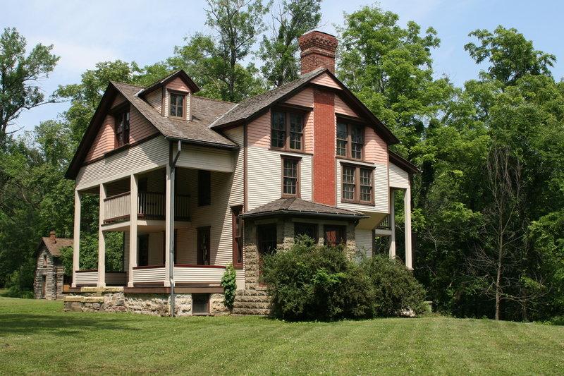 The Bailly Homestead house.
