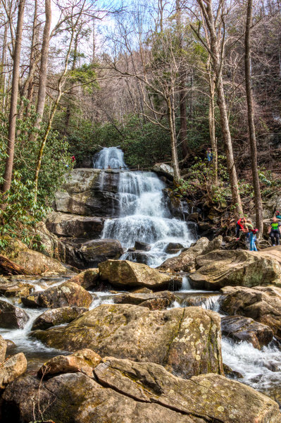 Great Smoky Mountains National Park - Laurel Falls