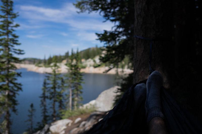 Hammocking at Lake Mary