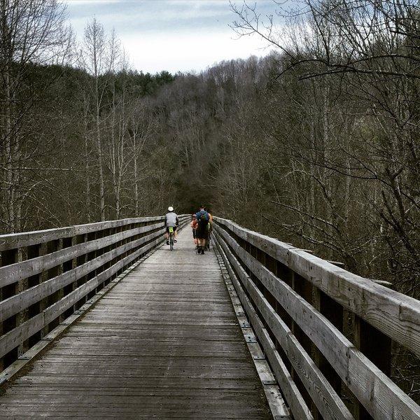 Long Trestle on the Virginia Creeper Trail
