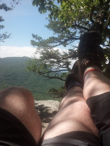 Hanging out on Hanging Rock