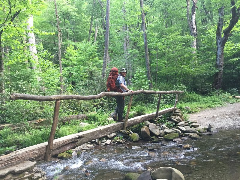 Hiking in the Cataloochee Valley - GSMNP
