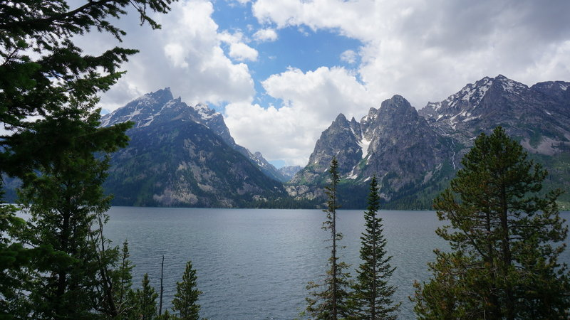 Jenny Lake and the Tetons