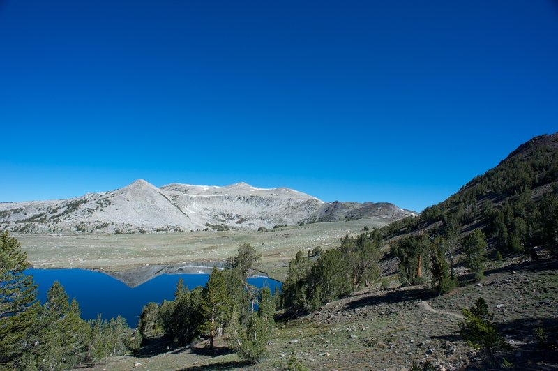 Taylor Lake Basin before descending to Middle Gaylor Lake.