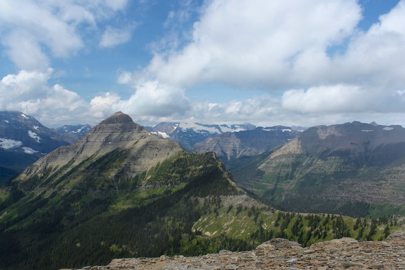 View from Pitamakan Pass.