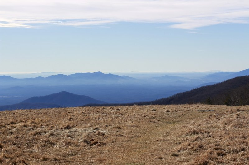 Meadows on Cold Mountain in December.