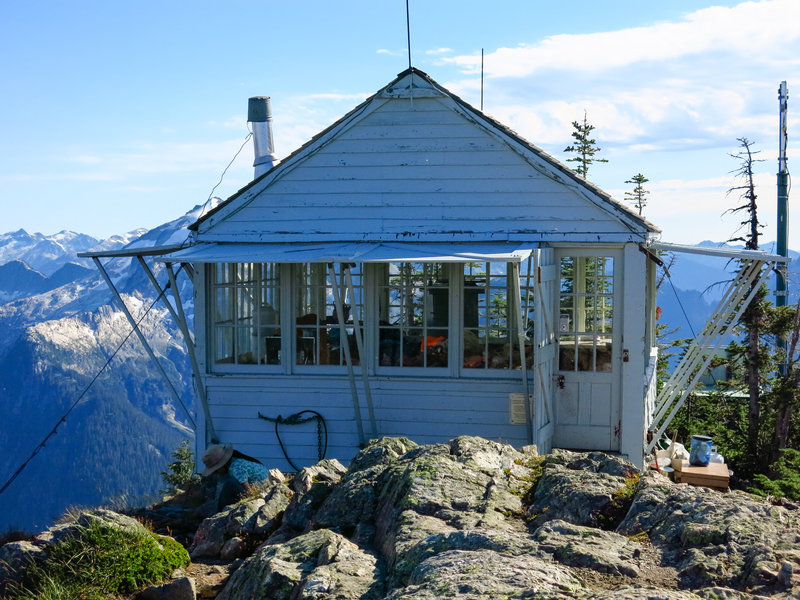 Copper Mountain Fire Lookout.