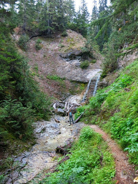 Hells Gorge on Hannegan Pass Trail.