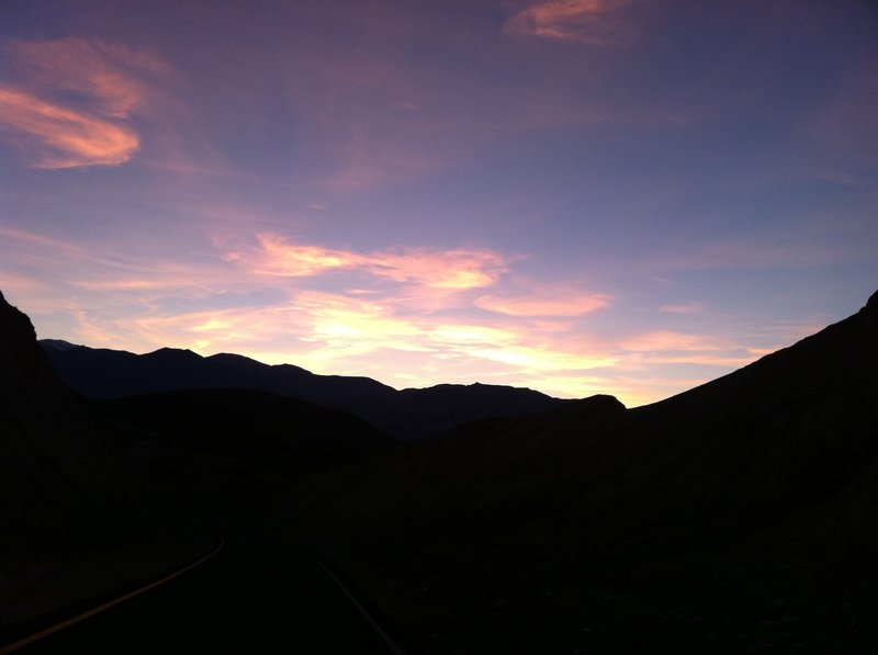 Sunrise can be spectacular from the Desolation Canyon Trail.