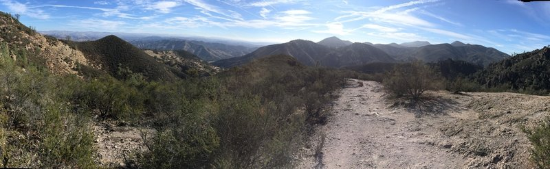 Great views on the Condor Gulch Trail.