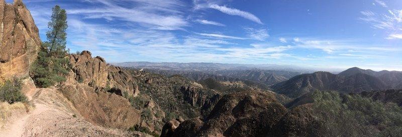 Beautiful views on High Peaks Trail!