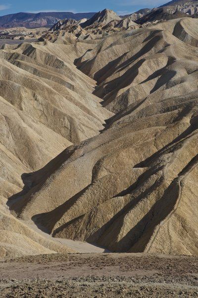 Death Valley Badlands.