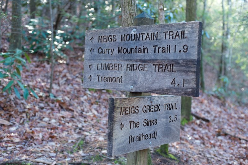When you reach the end of the trail, you have several options in regards to where you go next.