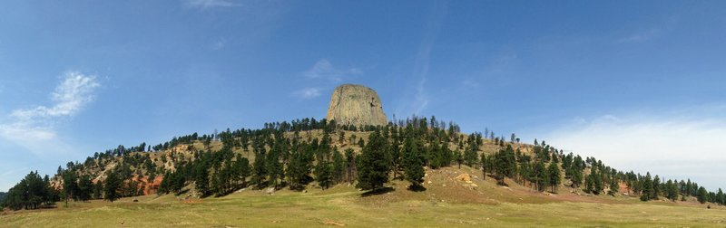Awesome views of Devils Tower from the South Side Trail.