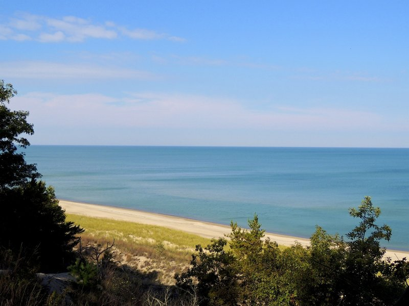 The views from the dune ridge are incredible!