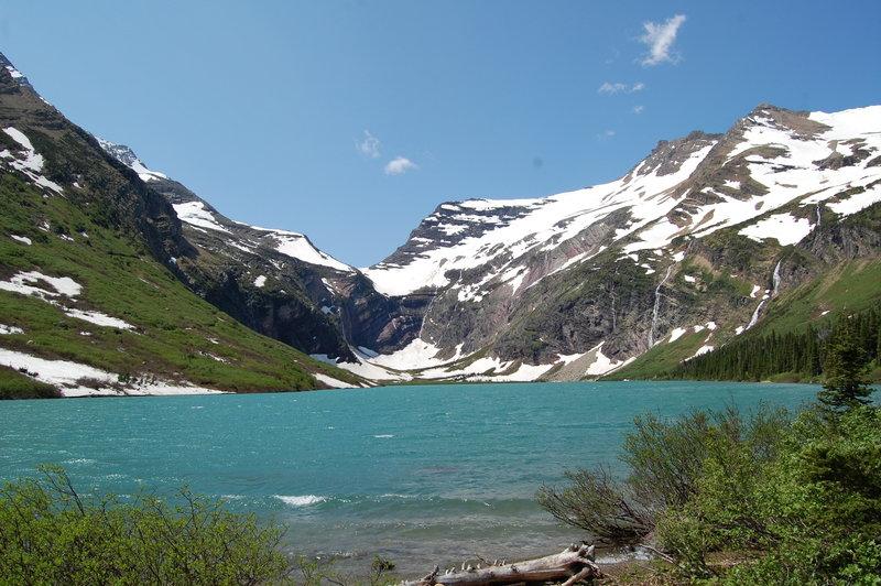 Gunsight Lake.