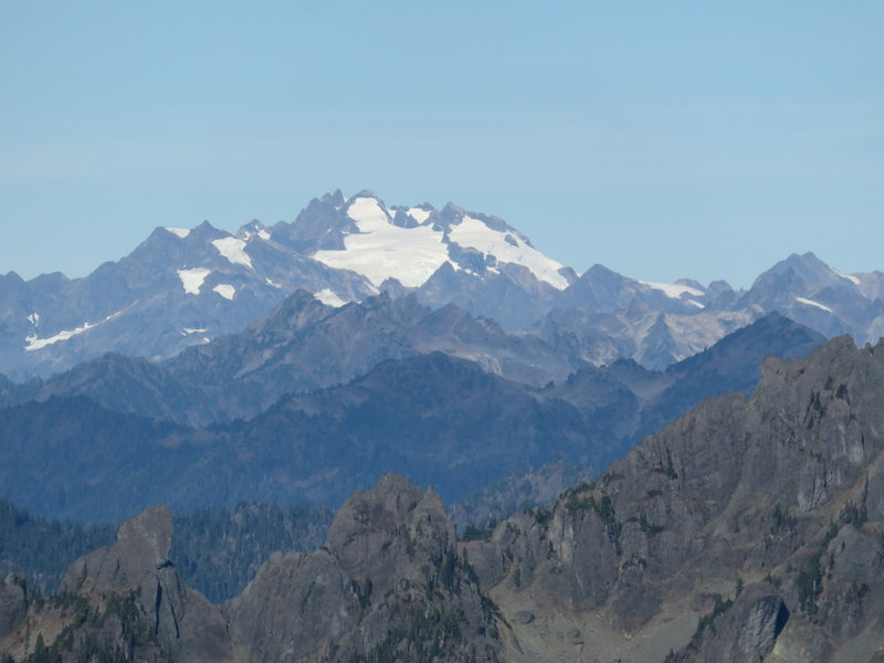 Mt. Olympus from the summit of Mt. Ellinor.