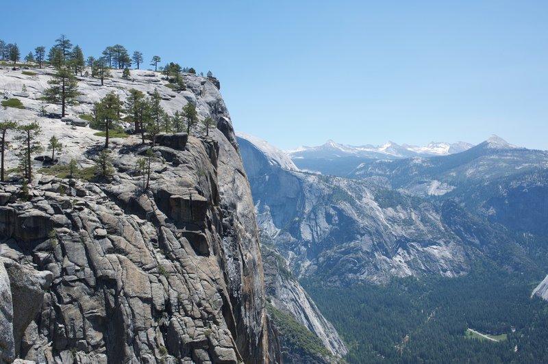 Yosemite Point from Upper Yosemite Falls.