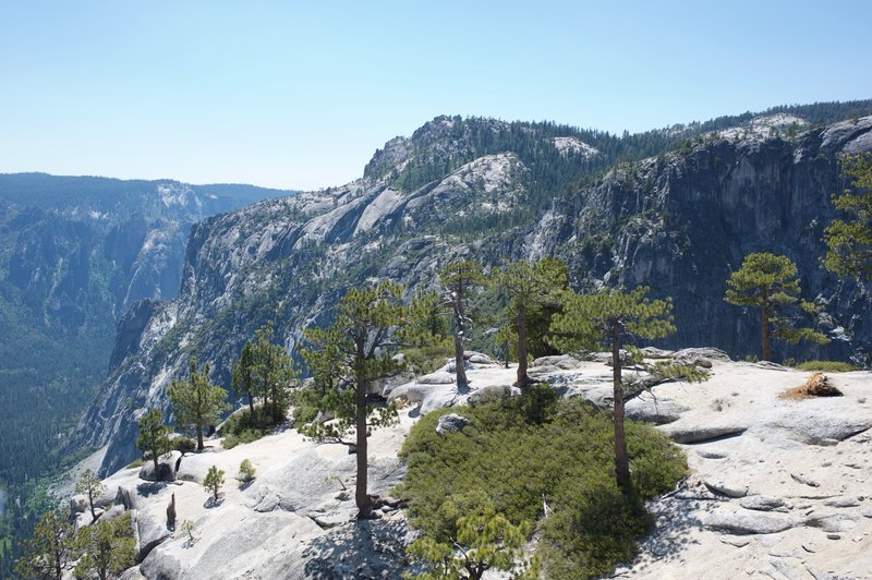 Area around Yosemite Point.