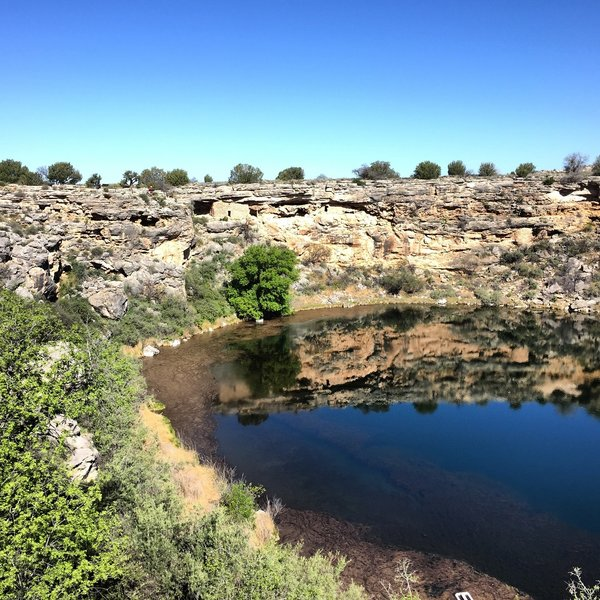 View of Montezuma Well