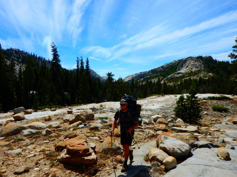 On the way to Buck Lakes, on the Bell Meadow Trail from the Crabtree Trailhead in the Emigrant Wilderness.