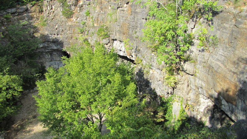 Three Caves, formerly known as Hermitage Quarry.