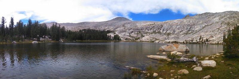 Joe Crane Lake with Post Peak above.