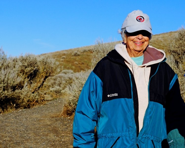 Dale is a long time Badger Mtn hiker and is very happy with the new trail.