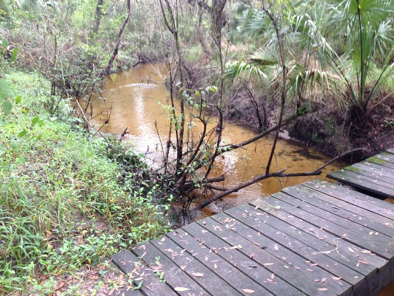 Bridge over Cypress Creek.