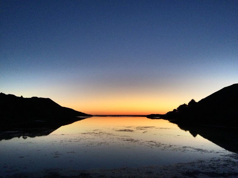 Reflections on Rodeo Lagoon